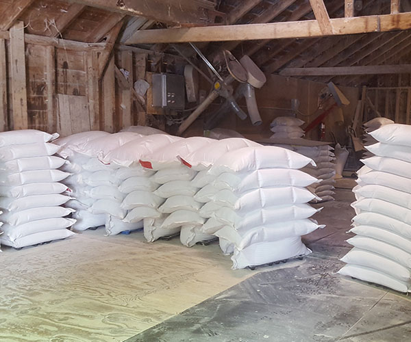 50 lb bags of feed