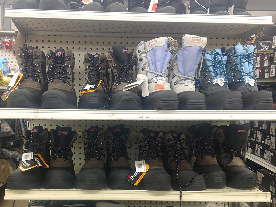 winter boots on clearance sale